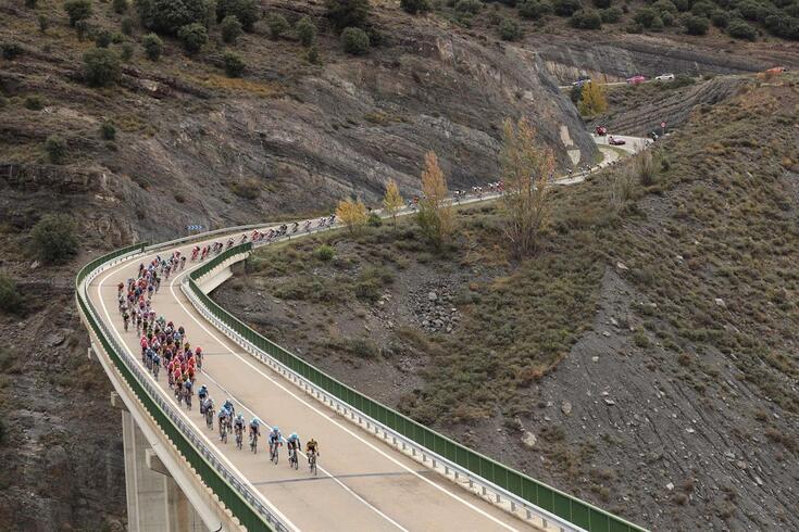 Dan Martin venceu a terceira etapa da Vuelta