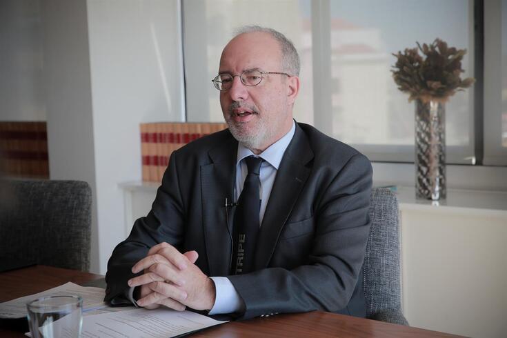 Rogério Alves, presidente da Mesa da Assembleia Geral do Sporting