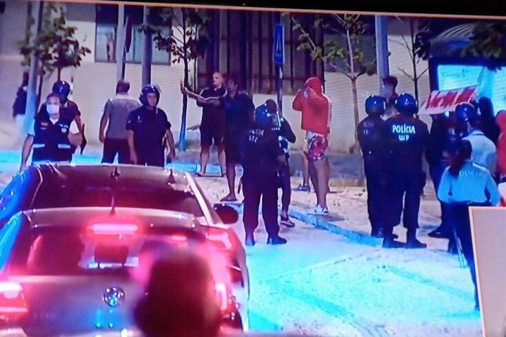 Reforço policial, um caminho alternativo e Vieira também visado no regresso do Benfica