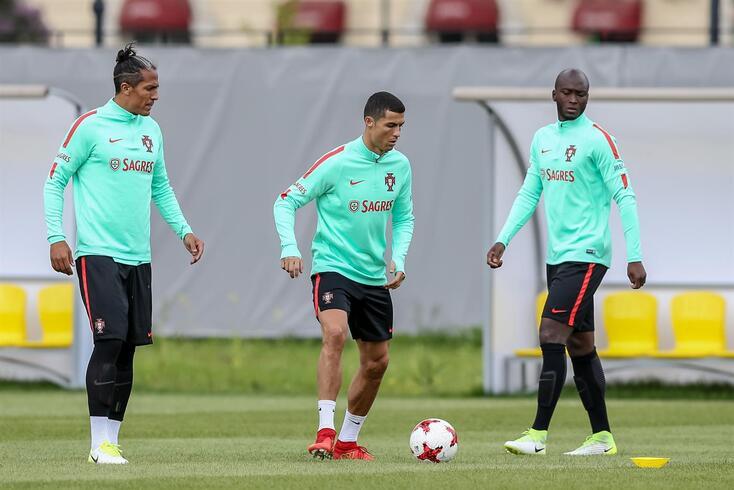 Bruno Alves, Cristiano Ronaldo e Danilo