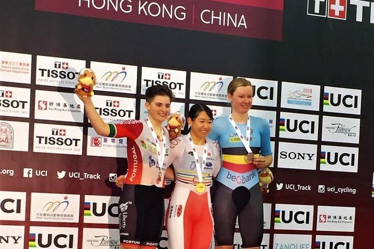 Maria Martins subiu ao segundo lugar do pódio