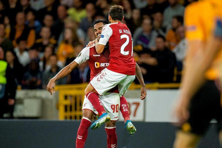 Braga venceu Wolves