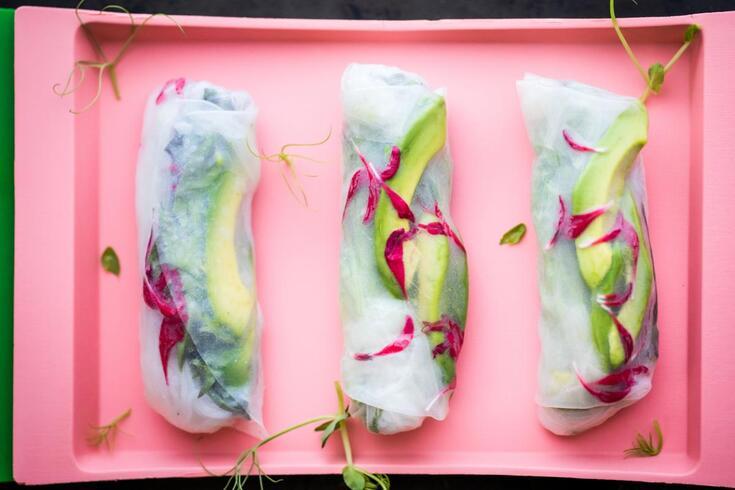 Rolinhos vegan: é tão rápido de se preparar quanto saudável