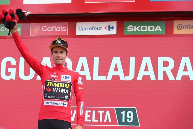 Roglic tem praticamente a Vuelta ganha