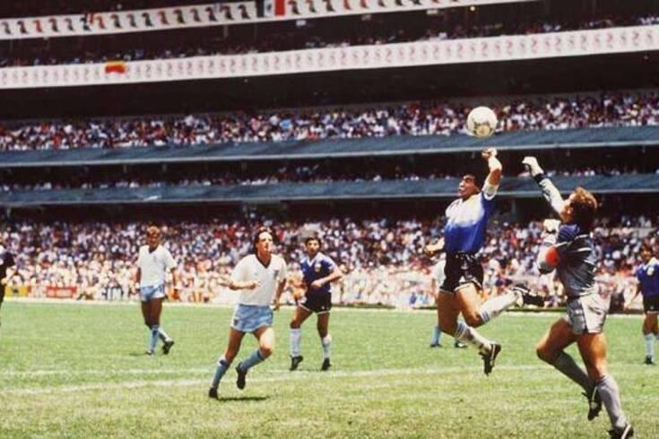 Um lance que ficou na história do futebol