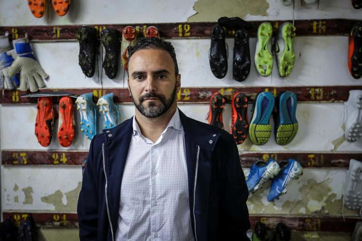 Ricardo Sousa, atual treinador do Beira-Mar
