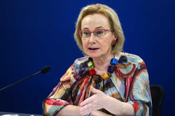A diretora geral da Saúde, Graça Freitas