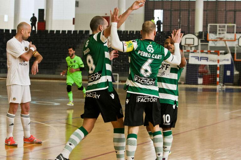 e34a6f29e3 Taça de Portugal  Sporting já tirou bilhete para as meias-finais