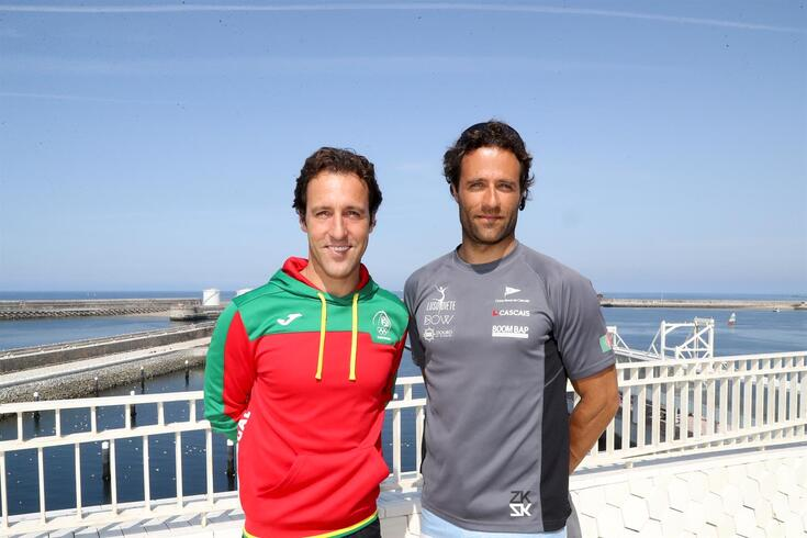 """Velejadores portugueses """"treinam"""" nos Mundiais para os Jogos Olímpicos"""