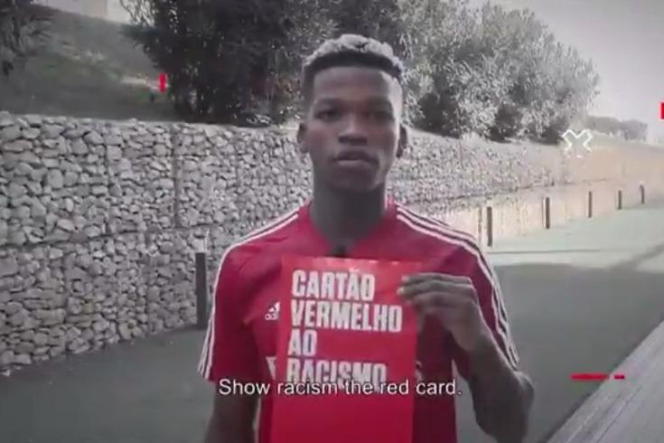 """Benfica reage em vídeo sem referências a Marega: """"Sempre contra o racismo"""""""