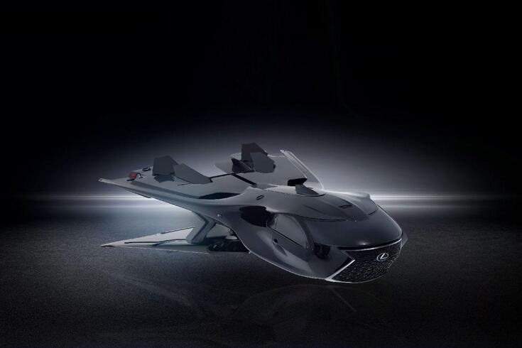 Este Lexus é a última linha de defesa da Terra
