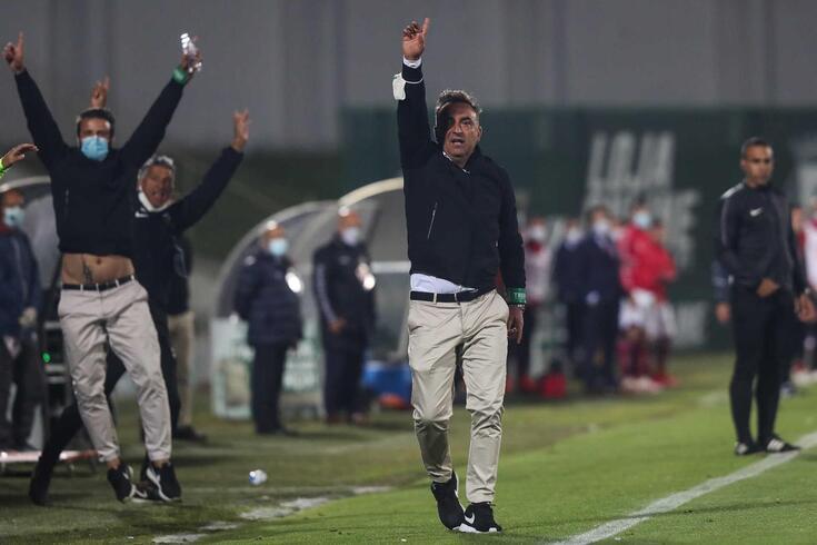 Carlos Carvalhal, treinador do Rio Ave