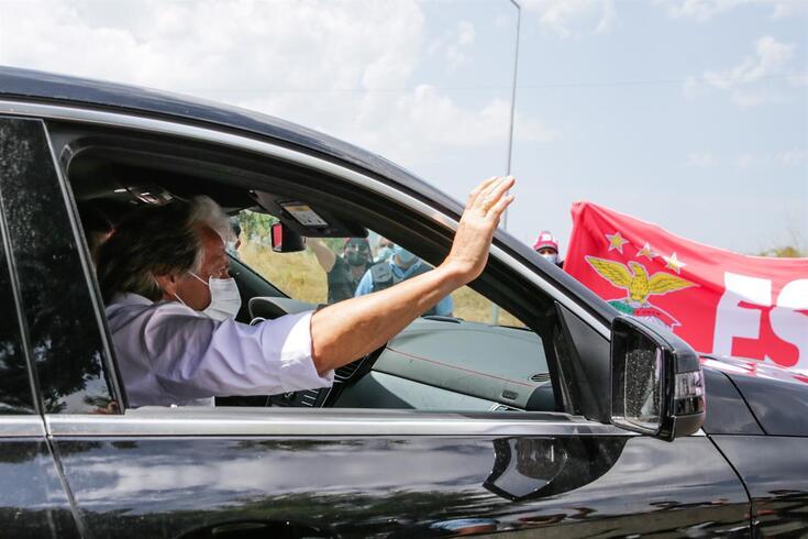 Jorge Jesus de volta ao Benfica