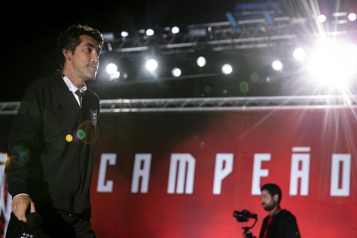 Bruno Lage levou o Benfica ao 37.º título de campeão
