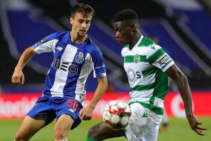 Fábio Vieira, médio do FC Porto