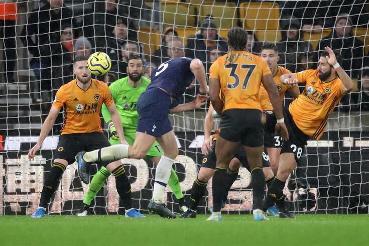 Vertonghen marcou o golo da vitória do Tottenham.