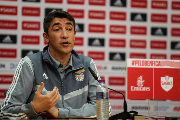Bruno Lage, treinador do Benfica.