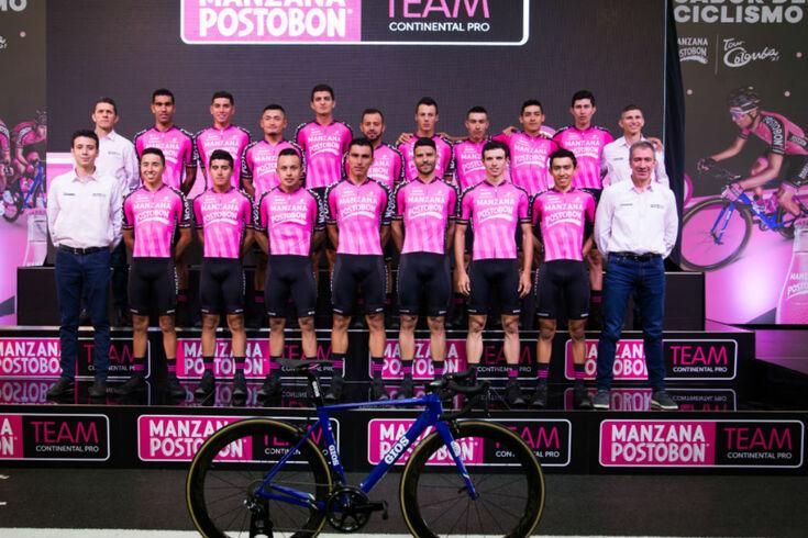 Manzana Postobon era única equipa profissional colombiana de ciclismo