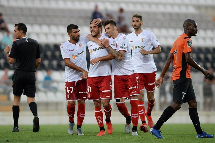 Braga vence em Portimão e mantém-se 100% vitorioso na pré-temporada