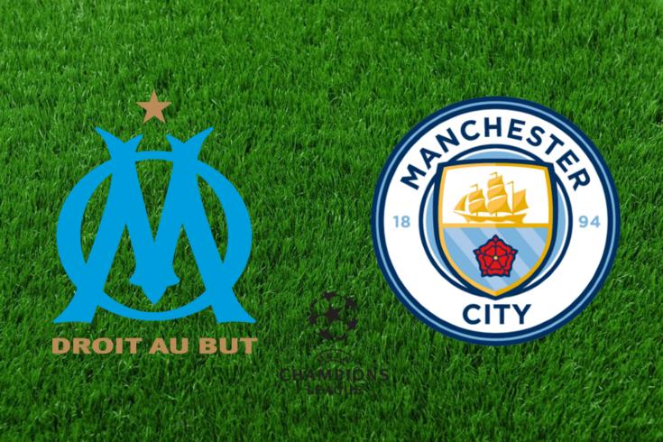 DIRETO | Marselha-Manchester City