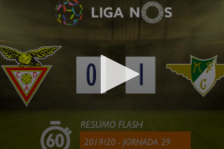 Moreirense venceu na Vila das Aves por 1-0