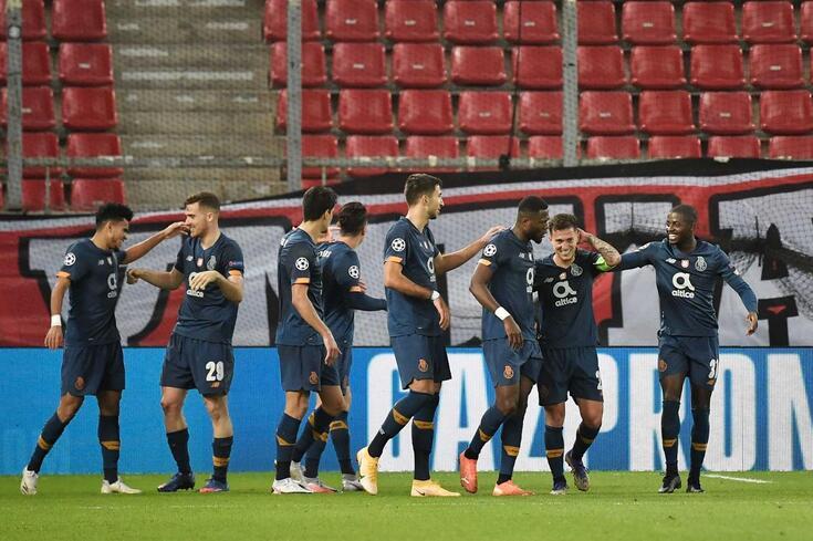O Porto venceu o Olympiacos na Grécia