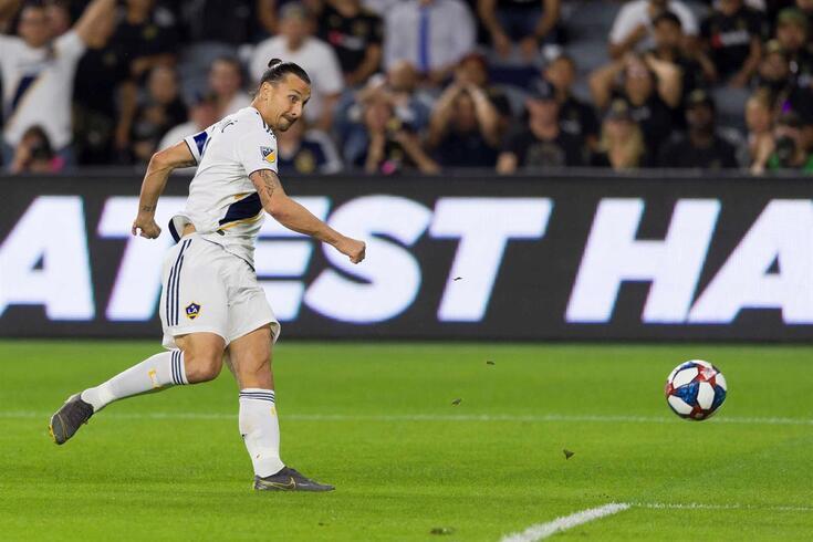 Zlatan Ibrahimovic, ponta de lança do LA Galaxy