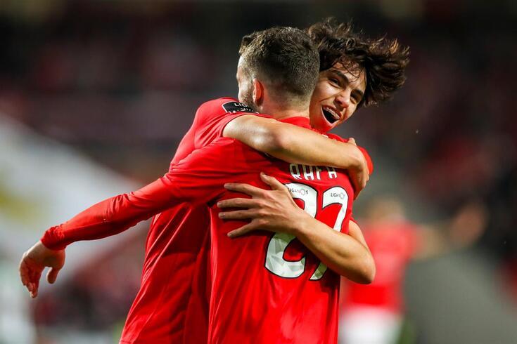 No Benfica há quem tenha melhores números que Félix e Seferovic