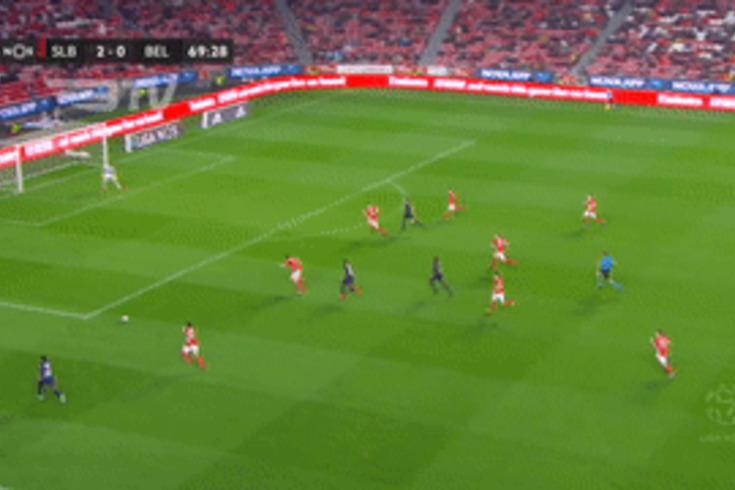 Benfica-Belenenses SAD: foi assim que os azuis reduziram a desvantagem
