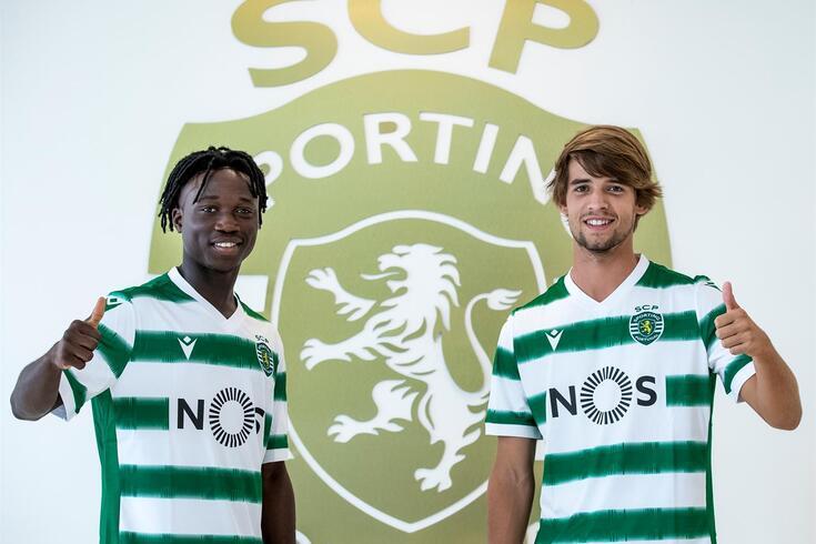 Joelson e Daniel Bragança são duas jovens promessas dos leões