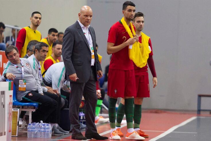Jorge Braz, selecionador de futsal
