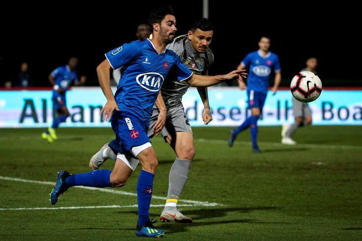Gonçalo Tavares no Belenenses-FC Porto da Taça da Liga