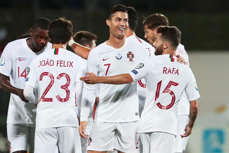 Portugal venceu na Lituânia