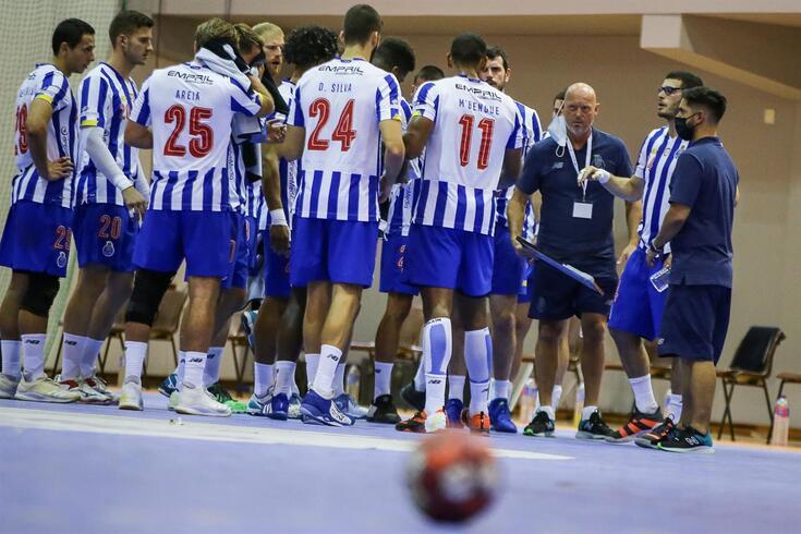 FC Porto é a única equipa portuguesa na Champions de andebol