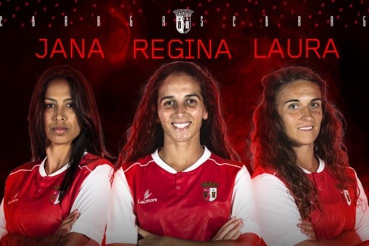Braga renova com as três capitãs da equipa