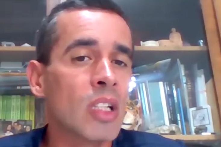Tiago Louro, adepto do Belenenses SAD