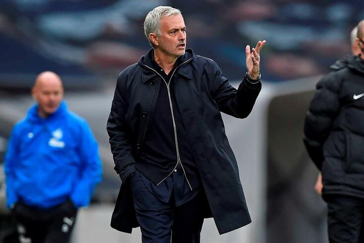 José Mourinho, treinador do Tottenham