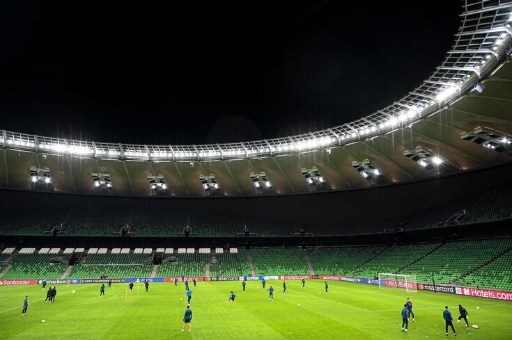 O palco do jogo entre Krasnodar e Sevilha