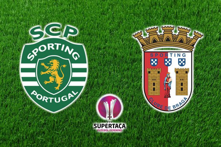 DIRETO SUPERTAÇA FEMININA | Sporting-Braga