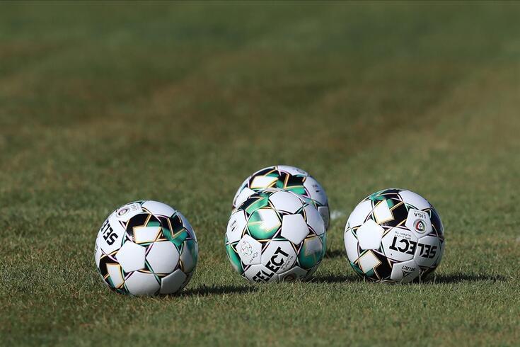 São Brás de Alportel, 06/08/2020 - Farense - 1º treino da época Liga 2020/21, no Campo Sousa Uva. Bola