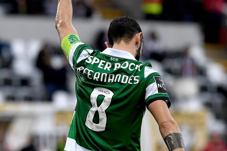 Bruno Fernandes leva 31 golos apontados esta temporada
