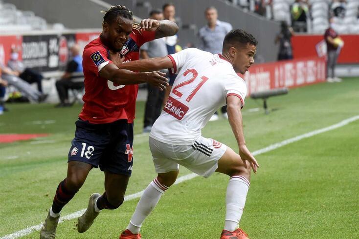 Renato Sanches em ação pelo Lille