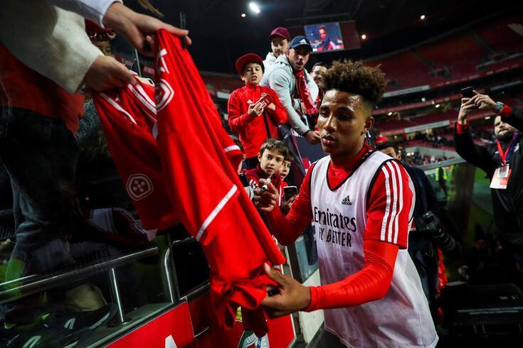 Gedson deixa o Benfica e ruma a Londres