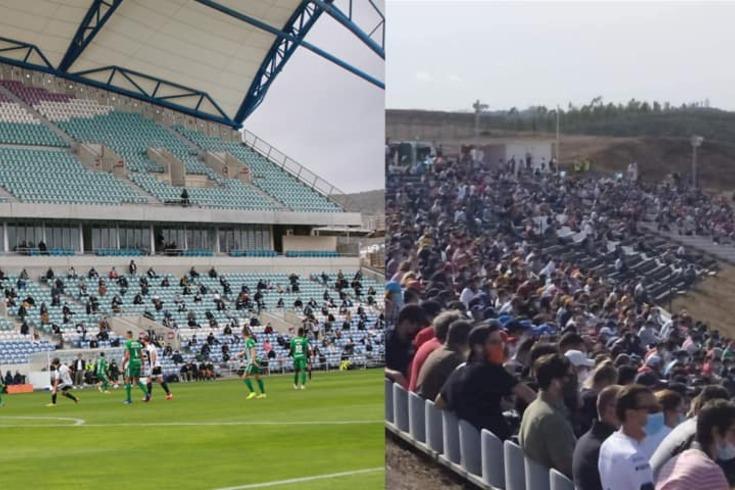 As diferenças entre o público nas bancada do Farense-Rio Ave e no Grande Prémio de Portugal de F1