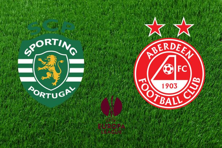 DIRETO   Sporting-Aberdeen