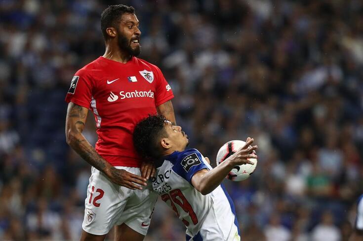 Cesar Martins e Soares no recente FC Porto-Santa Clara