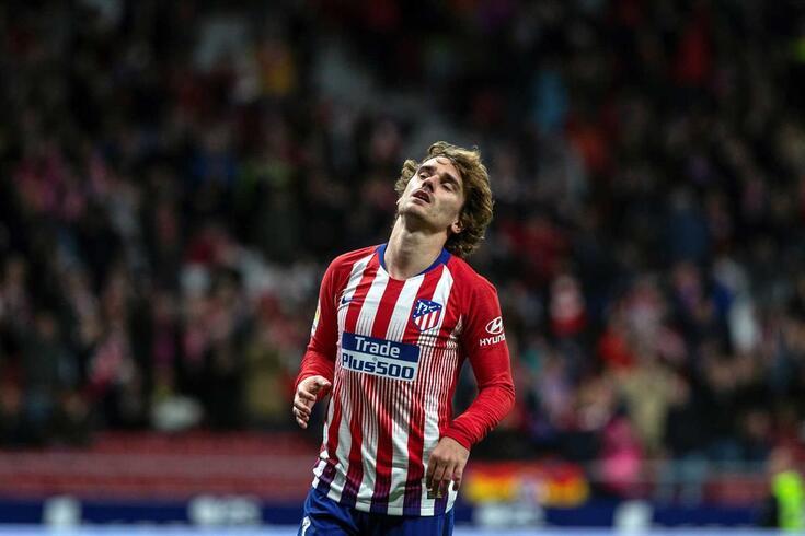 Griezmann abandona o Atlético de Madrid no final da época