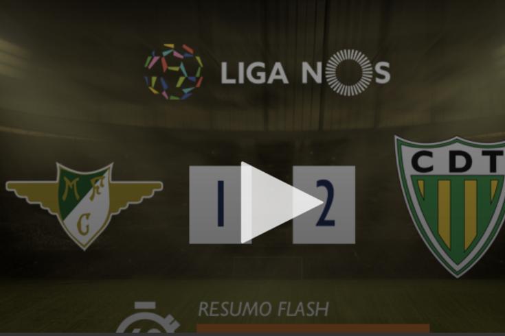 A vitória do Tondela em casa do Moreirense resumida em 60 segundos