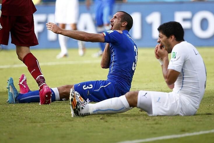 Uma imagem que fica na história do futebol