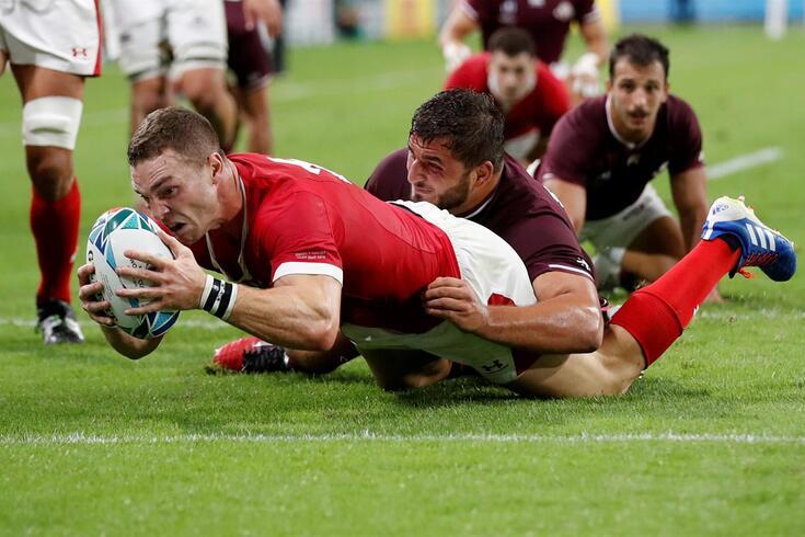 Râguebi: País de Gales estreia-se no mundial a vencer a Geórgia